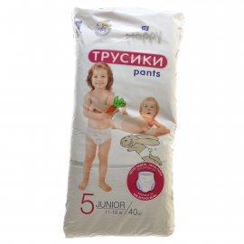 Подгузники-трусики BELLA HAPPY 11-18кг 40шт Junior 5 Pants