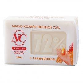 Мыло хозяйственное 72% с глицерином 180г