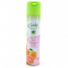 Освежитель воздуха GOLD WIND 2в1 Grapefruit Fresh 300мл