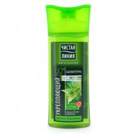 Шампунь для волос ЧИСТАЯ ЛИНИЯ Укрепляющий для всех типов Крапива 250мл