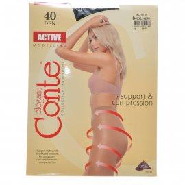 Колготки CONTE Active 006 40 р.6 Nero/Черный