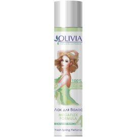 Лак для волос OLIVIA Сильная фиксация 4 С экстрактом зеленого чая 250мл