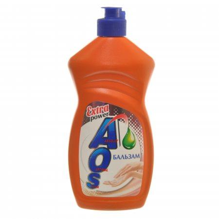 Средство для мытья посуды AOS Бальзам Extra power 450г