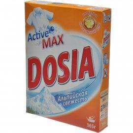 Стиральный порошок DOSIA Active3 для ручной стирки Альпийская свежесть 365г