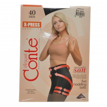 Колготки CONTE X-Press 40 р.2 Nero