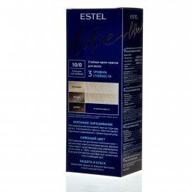 Крем-краска для волос ESTEL LOVE 10/0 Блондин платиновый