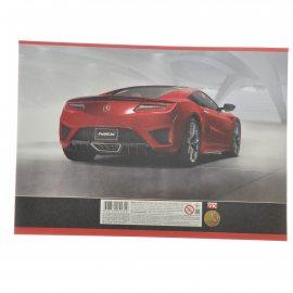 Альбом для рисования Hatber 16л А4 скрепка Cars
