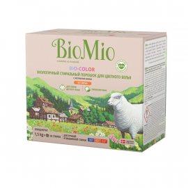 Стиральный порошок BioMio Автомат для цветных вещей б/зап концентрат 1.50кг