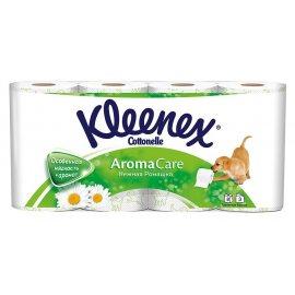 Бумага туалетная KLEENEX 8 рулонов трехслойная Нежная Ромашка