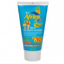 Крем ФЛОРЕСАН Africa Kids Солнцезащитный для чувствительной кожи SPF30 водостойк. 150мл