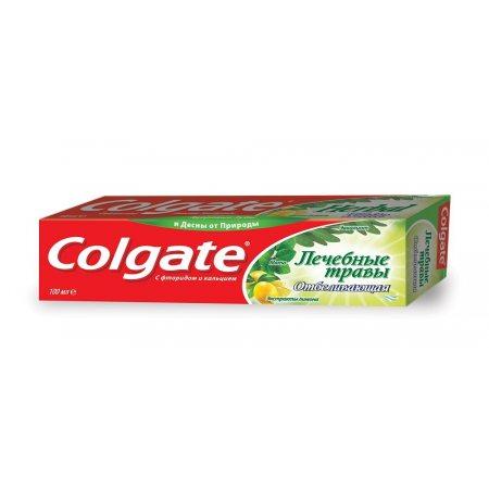 Зубная паста COLGATE Отбеливающая Лечебные травы 100мл