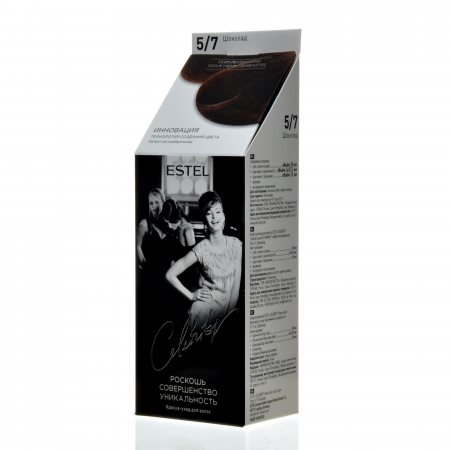 Краска для волос ESTEL St-Petersburg Celebrity уход без аммиака 5.7 Шоколад