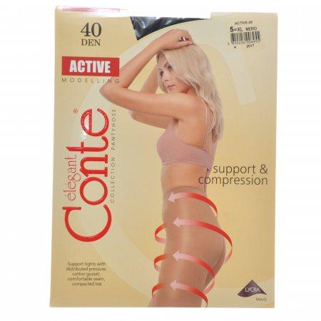 Колготки CONTE Active 006 40 р.5 Nero/Черный