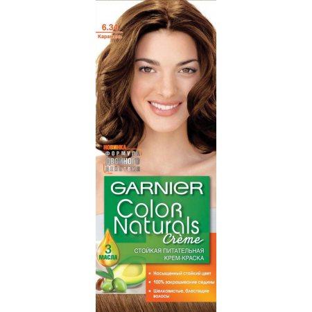 Крем-краска для волос GARNIER COLOR NATURALS стойкая 6.34 Карамель
