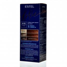 Крем-краска для волос ESTEL LOVE 6/43 Коньяк