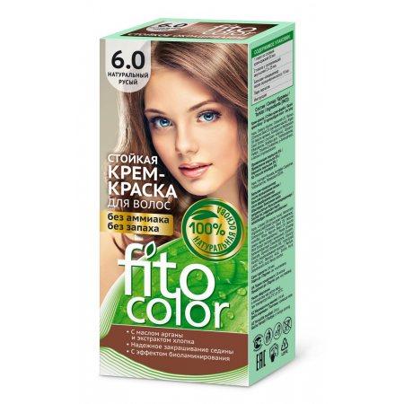Крем-краска для волос FITOCOLOR стойкая 6.0 Натуральный русый 115мл