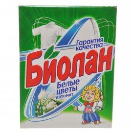Стиральный порошок БИОЛАН Автомат Белые цветы 350г